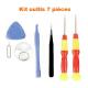 7pc tool kit for smartphone repair