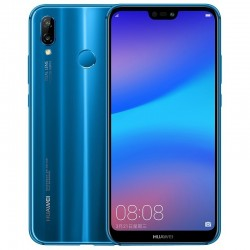 Huawei P20 Lite / Nova 3E bleu - reconnaissance faciale + charge rapide