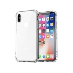 Silicone Transparent shock phone case 11 X XS XR XS Max 8 7 6 6S Plus back protection cover
