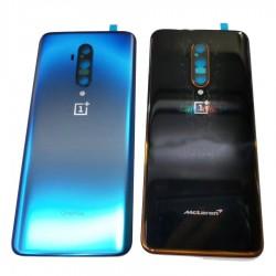 vitre arrière de remplacement OnePlus 7t Pro bleu et version McLare