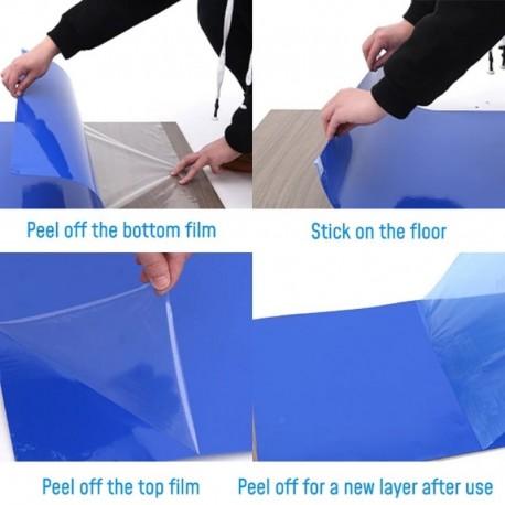 Antibacterial floor mat door entrance protective film 30 layers