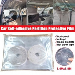 Insulating curtain for Taxi, UBER, anti-virus protection in the car