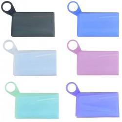 Pliable jetable masque anti-poussière boîte de rangement recyclage anti-poussière masque facial stockage Clip conteneur Case mas