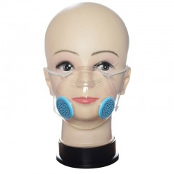 Transparent Reusable Masks with Deaf and Hard of Hearing Filters