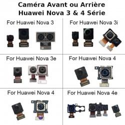 Rear Main Camera For Huawei Nova 3 3e 3i 4 4e Back Big Camera Facing Small Camera Flex Ribbon Cable Repair Replacement Parts