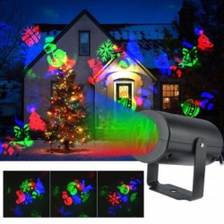 Outdoor laser projector 12 effects 3 LED colors for decoration Parties, wedding, Christmas, Halloween....