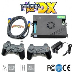 Pandora Box DX 3000 games in 2d or 3d - 2 controllers