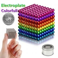 Multi-color neodymed metal magnet balls, Construction toys