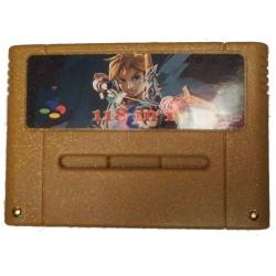 SNES game cartridge 118 in 1 for SNES 16-Bit PAL Version ue