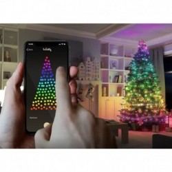 2020 Smart LED noël APP contrôle chaîne éclairage pour vacances lumière décoration nouvel an arbre extérieur lampes étanche IP66