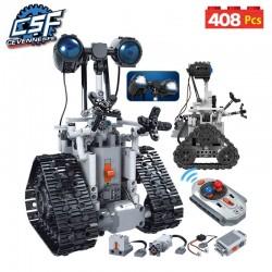 2020 nouvelle ville créative RC Robot électrique blocs de construction technique télécommande intelligente Robot briques jouets