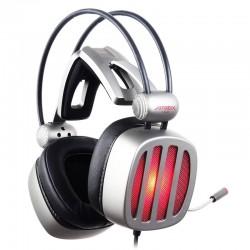 XIBERIA S21 casque de jeu avec Microphone 7.1 son Surround stéréo lumière LED casque de jeu USB casque pour Gamer