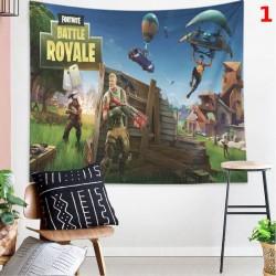 Fortnites tapisserie grande tenture murale tissu forteresse nuit mur tissu fond tissu mur tapisserie décoration maison esthétiqu
