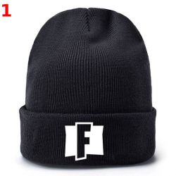 Fortnite Unisex Beanies Winter Knitted Hat for Adult Kids Hat Girl Hat Boy Winter Pullover Hat Breathable Men Gorras Simple Hats