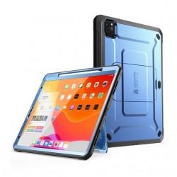 Étui pour iPad Pro 12.9 (2020), Support UB Pro, Support Apple crayon avec protecteur d'écran intégré, housse complète robuste